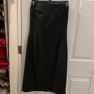 The Limited Strapless Black Dress - Size 6